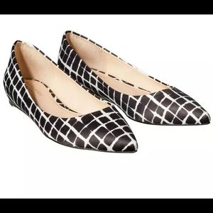 Adam Lippes for Target Black White Flats shoes